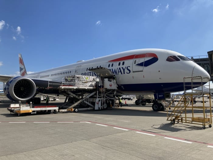 East Midlands Airport sees record cargo demand