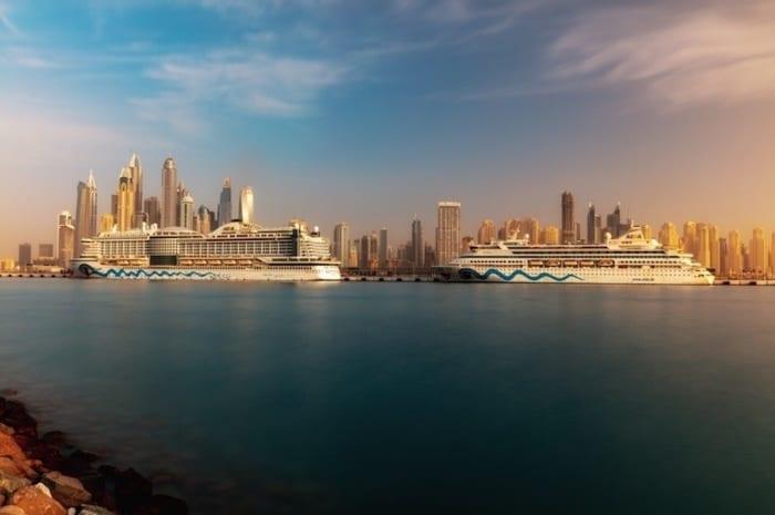 Aida Cruises arrives at new Dubai Cruise Terminal